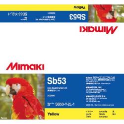 Encre Mimaki Sb53 Yellow - 2L