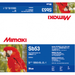 Encre Mimaki Sb53 Blue - 2L