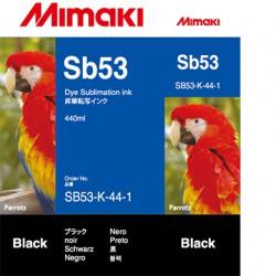 Encre Mimaki Sb53 Black -...