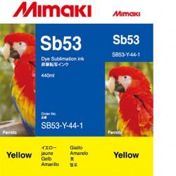 Encre Mimaki Sb53 Yellow -...