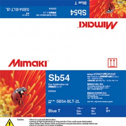 ENCRE MIMAKI BLEU SB54 - 2L