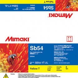 Encre Mimaki Sb54 Yellow - 2L
