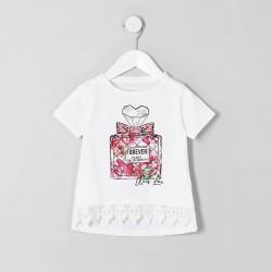 Forever mini T-Shirt blanc