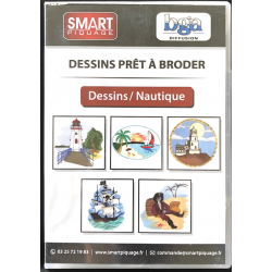 CD DESSINS - THEME NAUTIQUE
