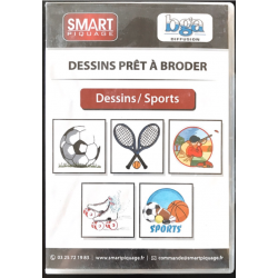 CD DESSINS - THEME SPORTS