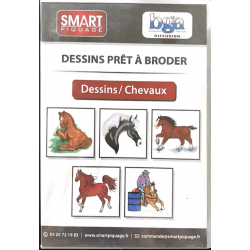 CD DESSINS - THEME CHEVAUX
