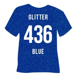 Flex Glitter Blue 436 -...