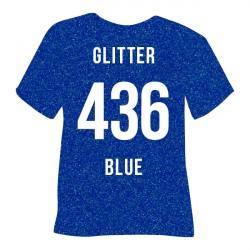 POLI-FLEX GLITTER 436 BLUE...