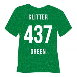 POLI-FLEX GLITTER 437 GREEN...