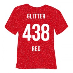 POLI-FLEX GLITTER 438 RED -...