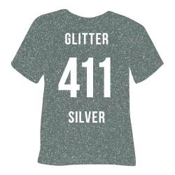 Flex Glitter Silver 411 -...