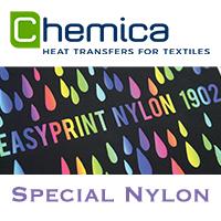Médias imprimables spécial nylon
