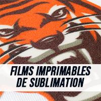 Films imprimables de sublimation
